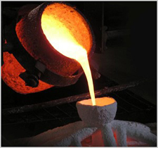 Best Molten Metal Stock Photos, Pictures & Royalty-Free ... |Molten Metal Crucible