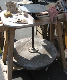Throwing Clay On A Pottery Wheel