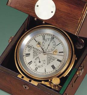 marine chronometer and longitude