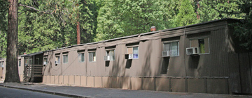 FEMA trailers used as employee housing